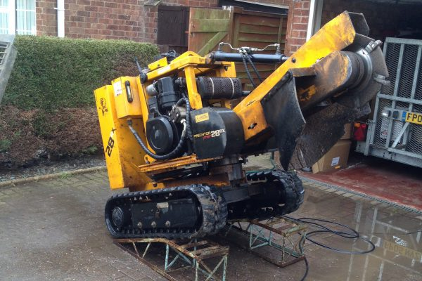 Tree stump grinding & tree stump removal services in Leicestershire, Warwickshire and Staffordshirestump-grinder